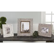 white antique picture frames. Set Of 3 Victorian Elegants Off-White Antique Finish Photo Frames 16\ White Antique Picture Frames