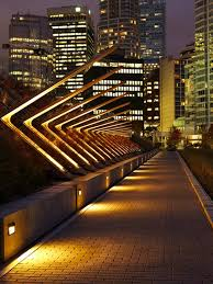 inspirational lighting. pedestrian pathway lighting and architecture by jill anholt inspirational i