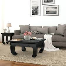 solid wood square coffee table black solid wood square opium coffee large square solid wood coffee