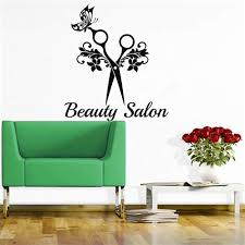 the gallery for beauty salon wall art