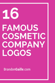 16 famous cosmetic pany logos