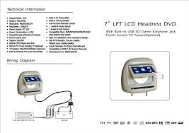 headrest dvd player wiring diagram headrest image tft lcd headrest monitor cd dvd tv usb sd game ir fm on headrest dvd