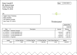 Statement Of Invoices Invoicing And Accounting The Accounting Center Aging
