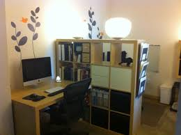 office room divider. Room Divider Solutions Excellent 9 Home Office : Small Space Creates Shared Home. »