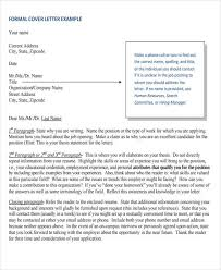 Formal Letter Heading Format Sample Formal Letter Format 34 Examples In Pdf Word