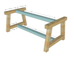 Building Dining Table 17 Best Ideas About Build A Table On Pinterest Build A Coffee
