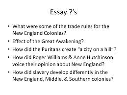 the thirteen colonies chapter ppt  18 essay