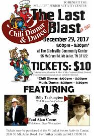 chili supper flyer the last blast chili dinner and dance a fundraiser for mt juliet