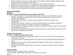 Lvn Resume Lvn Resume Sample No Experience Resume Cover Letter 56