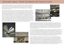Pearl Design Institute Concept Idea Pearl Academy Of Fashion Contemporary