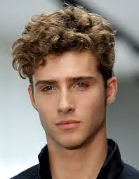 Mens Medium Curly Hairstyles 2013