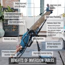 top 10 benefits of inversion tables on