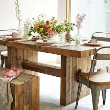 rustic dining table emmerson farm scroll to next item emmerson reclaimed wood dining table c