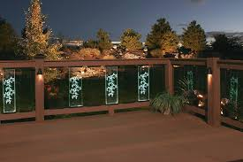led deck lighting ideas. Deck Rail Lighting Led Post Lights Under Ideas G