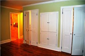 Furniture: Amazing Folding Closet Doors For Smart Furniture Ideas ...