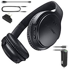 bose wireless headphones noise cancelling. bose quietcomfort 35 (series i) bluetooth wireless noise cancelling headphones - black \u0026 car