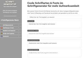 Mit Coolen Fonts Instagram Schriftarten Einfach Online Texte
