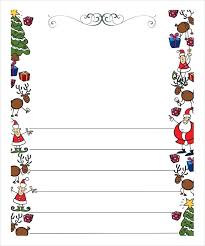 Christmas Writing Paper Template Free Fresh Letter Template Free Pictures Complete Letterhead Christmas