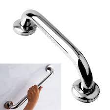 stainless steel grab bar handle chrome bathroom shower tub handgrip
