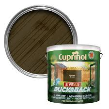 Cuprinol 5 Year Ducksback Harvest Brown Shed & Fence Treatment 9L |  Departments | DIY at B&Q