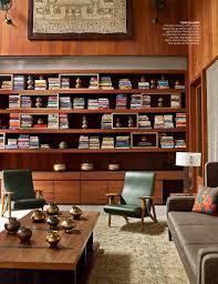 mid century modern bookshelf. Mid Century Modern Living Room Bookshelf N