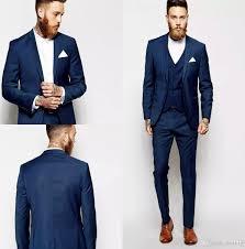 Suit Coat Pant Design Latest Coat Pant Design Groom Tuxedos Groomsmen Slim Suits Fit Best Man Suit Wedding Mens Suits Groom Wear Jacket Pants Handkerchief Formal Suit Men