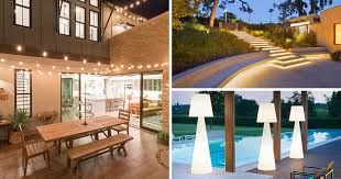 outdoor home lighting ideas. 8 Outdoor Lighting Ideas To Inspire Your Spring Backyard Makeover |  CONTEMPORIST Outdoor Home Lighting Ideas E