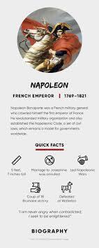 Napoleon Bonaparte Quotes Death Facts Biography