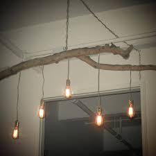 diy tree lamp