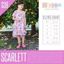 Lularoe Kids Size Chart Lularoe Scarlett Dress In 2019 Lularoe Kids Dresses
