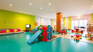 Play Rooms For Kids Indoor Kid Gallery Amazing Green And Soft Blue Stylish  Decorate Wall Room