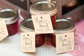 Decorating Jelly Jars jam jars for wedding favors untag 95