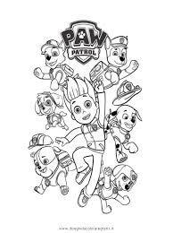 Free Printable Coloring Pages Paw Patrol At Getdrawingscom Free