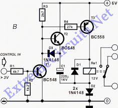 simple relay step up circuits eeweb community the period is determined by the r c time constant of the relay coil resistance and the 220 µf capacitor while this circuit