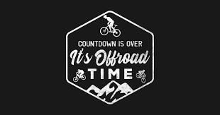 offroad cycling cycle bike mounn downhill gift sticker