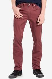 Levis 511 Size Chart Shop Levis Levis 511 Slim Fit Commuter Jeans Red Mahogany