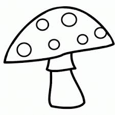 Small Picture Mushroom coloring page Crafts and Worksheets for Preschool