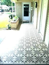 concrete tiles outdoor polished
