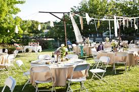 Bbq Wedding ReceptionDiy Backyard Wedding Decorations
