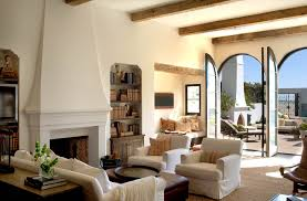 Mediterranean Decor Living Room Interior Classy Mediterranean Living Room With Cozy Brown Sofa