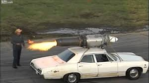 Man Straps Cruise Missile to 1967 Chevy - YouTube