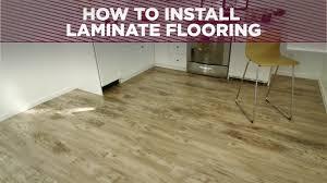 Installing Kitchen Flooring Flooring How To Install Laminate Wood Flooring In The Kitchen