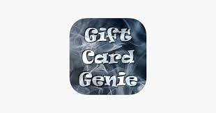 gift card genie dans l app