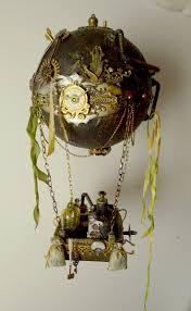 <b>Воздушный шар</b>, Стимпанк, Декоративные поделки