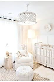 cool chandelier for baby room 9 small jillian harriss all white nursery is pure perfection babys childs chandeliers girl canada adorable design and decor