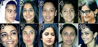 fairly shocking pictures of celebrities without makeup photos pictures of famous bollywood actresses without make up i guarantee if you met most of