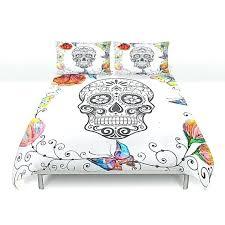 skull duvet covers king size sugar skull duvet cover queen sugar skull duvet cover canada like this item