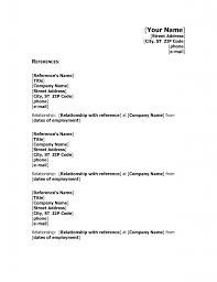 Resume Reference List Format Lcysne Com