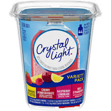 crystal light drink mix variety pack on the go packets 44 count