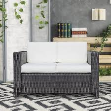 patio furniture white. Full Size Of Patio Loveseat Sale All Weather Wicker Set Resin Furniture White Outdoor Outside